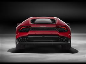 Huracán LP 580-2 - Back Red-HD