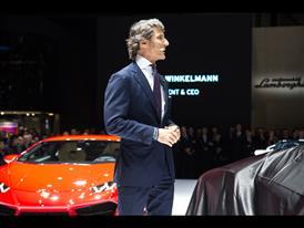 Stephan Winkelmann, President and CEO of Automobili Lamborghini and new Lamborghini Centenario
