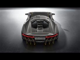 Lamborghini Centenario Rear