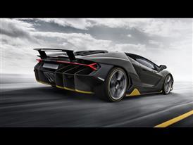 Lamborghini Centenario Dynamic Rear