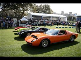 Lamborghini Miura Event at Amelia Island