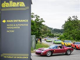 Miura Tour 9 june Dallara Automobili