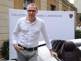 Stefano Domenicali at Milano Moda Uomo