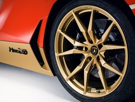 Rims and Logo Aventador Miura Homage