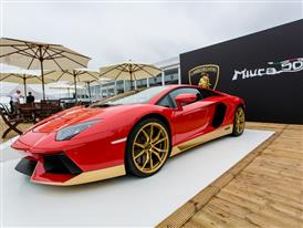 Aventador Miura Homage on display at Goodwood-1