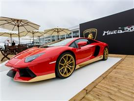 Aventador Miura Homage on display at Goodwood HR-1