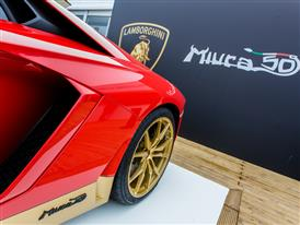 Aventador Miura Homage on display at Goodwood-2