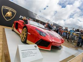 Aventador Miura Homage on display at Goodwood HR-4