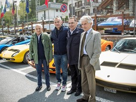 Da sx- Stanzani, Reggiani, Dallara e Gandini