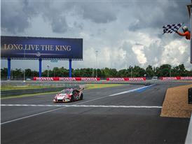 Checkered flag buriram