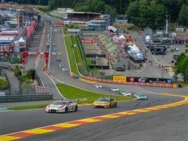 The Lamborghini Blancpain Super Trofeo Europe Breaks All Records: 50 Cars on Grid at Spa Francorchamps