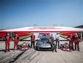 Lamborghini Squadra Corse Takes to the Track with the Kart Drivers Program