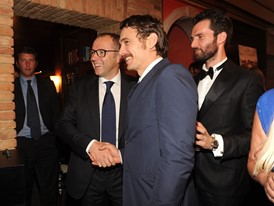 064 Stefano Domenicali;James Franco NIN 0167
