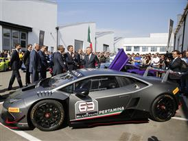 M. Renzi at Automobili Lamborghini