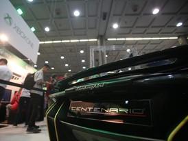 Detail of Lamborghini Centenario at MGW