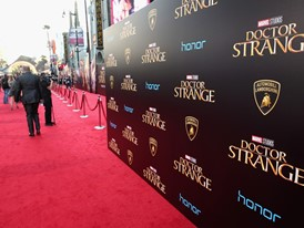 The Red Carpet for the Doctor Strange Premiere
