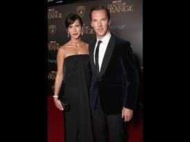 Benedict Cumberbatch and his wife Sophie Hunter