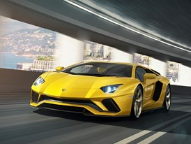 Aventador S  Tunnel Front 2