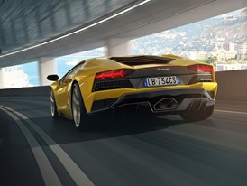 Aventador S Tunnel Rear 1
