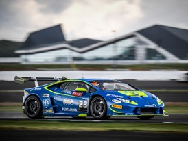 Postiglione and Cecotto win Race 1  of the Lamborghini Super Trofeo Europe at Silverstone