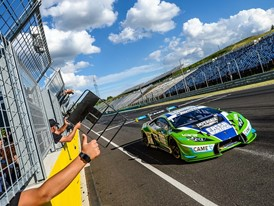 First victory in the International GT Open for the Lamborghini Huracán GT3