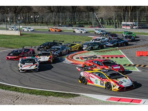 Lamborghini Blancpain Super Trofeo 2013