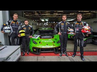 Lamborghini Squadra Corse 'Young Drivers' make debut for Lamborghini Huracán GT3