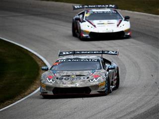 Michimi Returns to Top Step in Lamborghini Blancpain Super Trofeo North America Round 6