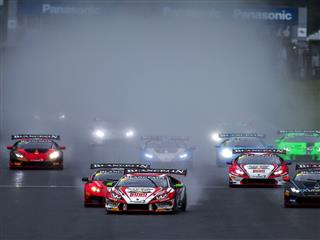 Wet Race At Fuji Speedway Concludes Gloriously As Lamborghini Blancpain Super Trofeo Prepares For World Final
