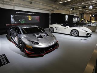 "Automobili Lamborghini at Padua's 2016 Classic Car and Motorcycle Show ""Auto e Moto d'Epoca"""