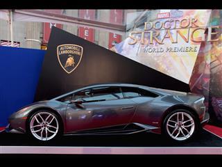Huracán on display at Doctor Strange Premiere