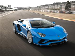 Global dynamic launch of the Aventador S