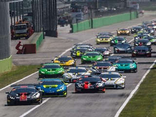Breukers and Jefferies open the Lamborghini Super Trofeo Europe by winning the first of the two Monza races