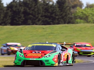 Third victory in the British GT  for the Lamborghini Huracán GT3