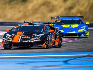 With Antonelli Motorsport, Grenier-Spinelli Win a hard-fought Race at Paul Ricard in the Lamborghini Super Trofeo Europe