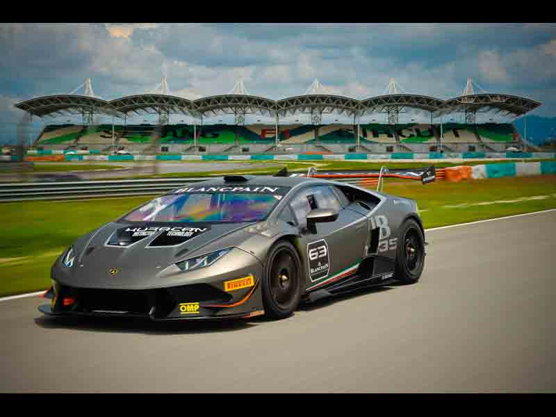 Lamborghini Huracan LP 620-2 Super Trofeo in Sepang