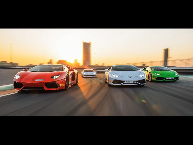 Lamborghini Track Accademia 2014 in Dubai
