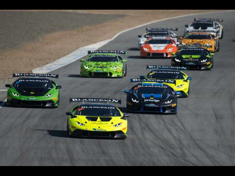 Antinucci Wins Opening Round of Lamborghini Blancpain Super Trofeo North America