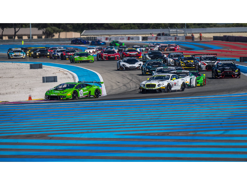 First ever pole position and almost podium finish in 1000 Km Paul Ricard race. A drive through slowed the Lamborghini Hu