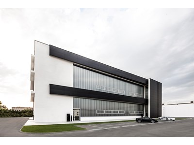Automobili Lamborghini opens new building designed for the development of prototypes and pre-series vehicles - It is the first multi-story industrial building in Italy with a Class A energy rating