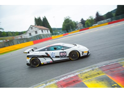 Dimitri Enjalbert claims first blood as Adrian Zaugg's Spa lead fades on the penultimate lap