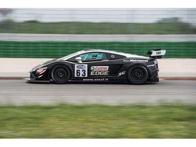 Lamborghini close to desired podium success in the Italian GT Championship
