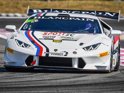 Third Victory for Dennis Lind in the Lamborghini Blancpain Super Trofeo Europe at Paul Ricard