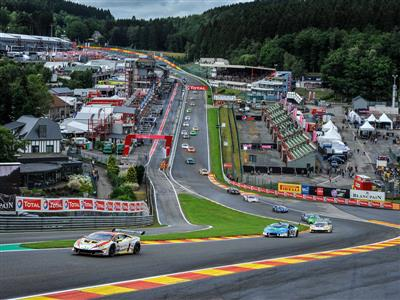 First Absolute Victory For Kujala And Amstutz At Spa In The Lamborghini Blancpain Super Trofeo