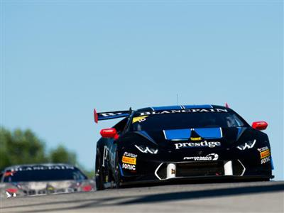 Hindman, Duerson Earn First Lamborghini Blancpain Super Trofeo North America Overall Victory at Road America