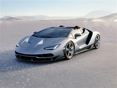 Lamborghini Unveils Centenario Roadster in California, USA: Fluid Open Air Elegance Meets Eengineering Brilliance
