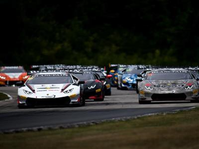 Lamborghini Blancpain Super Trofeo North America Drivers, Teams Looking for Strong Start to Second Half of Season at VIR