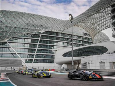 Breukers and Jefferies of GDL Racing Team won Race 2 of the Lamborghini Super Trofeo Middle East