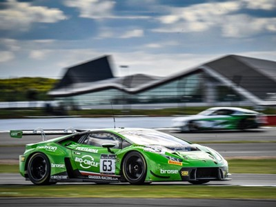 Terza vittoria consecutiva della Lamborghini Huracan GT3 nel campionato Blancpain GT Series