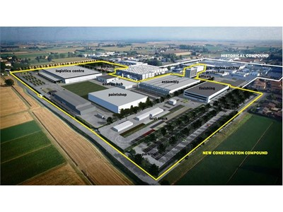 Automobili Lamborghini: Paint Plant for the Urus SUV Confirmed at Sant'Agata Bolognese